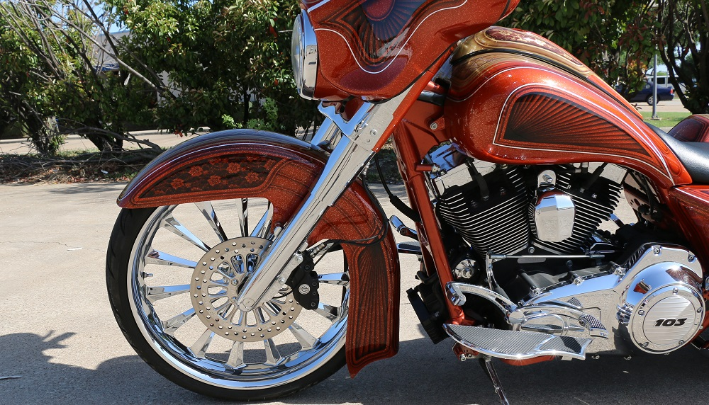 Front End Package For Harley Baggers