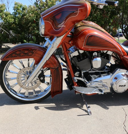 23 Inch Front End Package For Harley Baggers