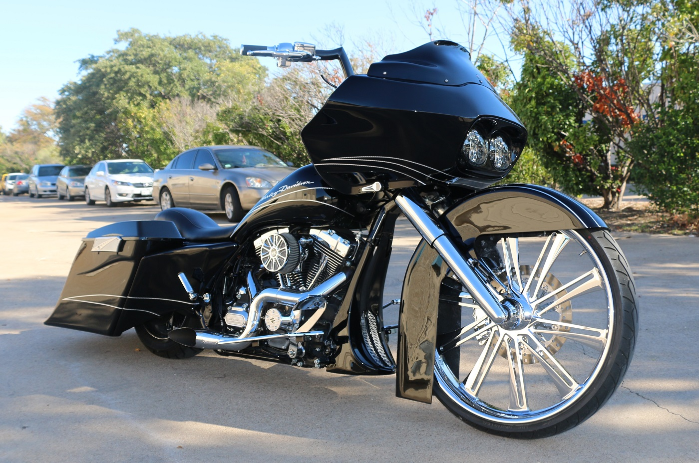 Harley Service Texas >> Harley Bagger Front End Pckages | Pickard USA