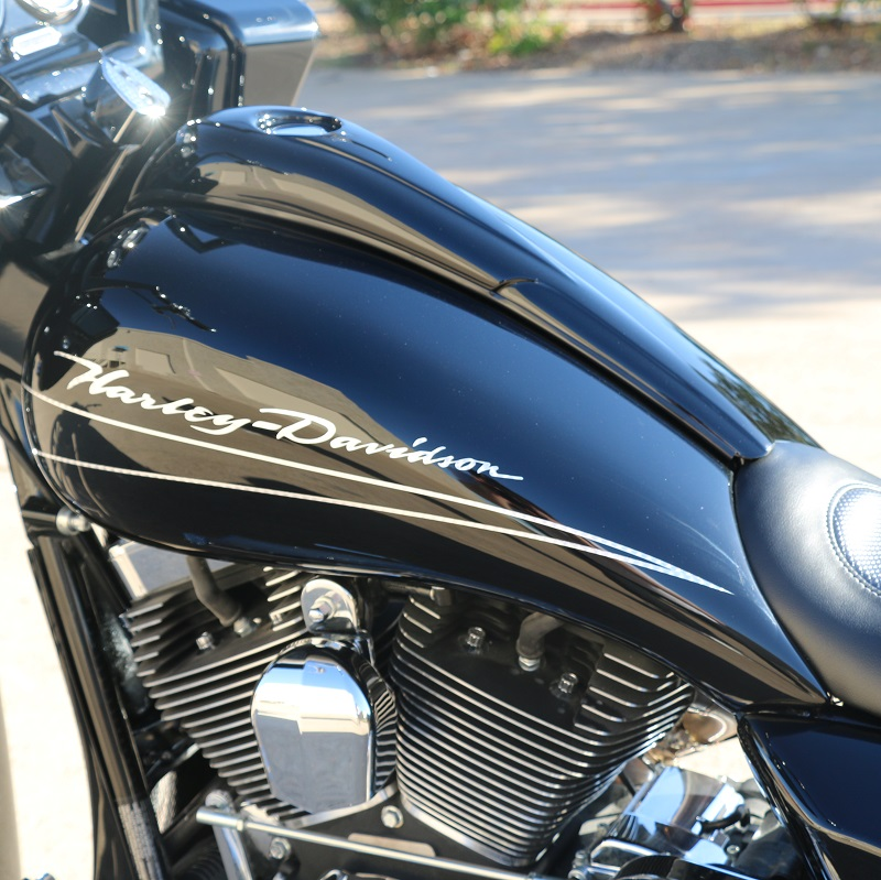 Harley Tank Stretch Package With Dash Amp Pop Up Gas Cap