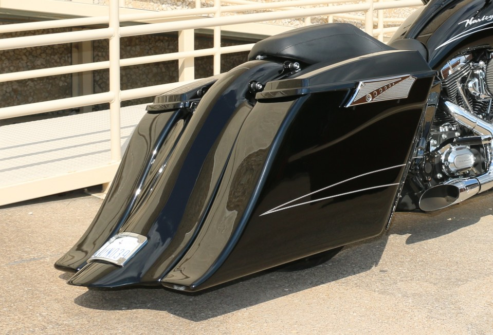 Swag Bags Harley Extended Saddlebags